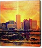 Baltimore Sunrise Canvas Print