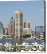 Baltimore Waterfront Canvas Print