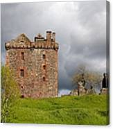 Balvaird Castle Ruins Scotland Canvas Print