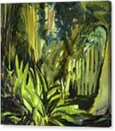 Bamboo Garden I Canvas Print