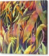 Bamboo Patterns Canvas Print