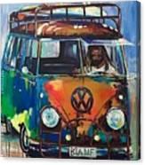 Bamf-vw Microbus Canvas Print