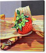 Banana Split Canvas Print