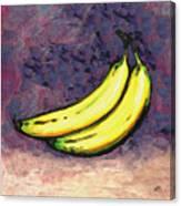 Bananas Three Canvas Print