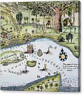 Bandar Abbas, 17th Century Canvas Print