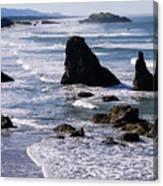 Bandon Beach 2 Canvas Print