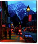 Banff At Twilight Canvas Print