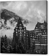 Banff Fairmont Springs Hotel Canvas Print