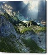 Mount Cory, Banff Canvas Print