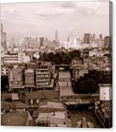 Bangkok City Canvas Print