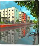 Bangkok Reflections Canvas Print