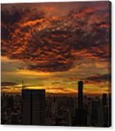 Bangkok Sunrise Canvas Print