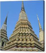 Bangkok, Wat Po Canvas Print