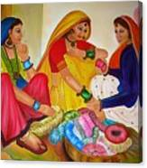 Bangle Seller Canvas Print