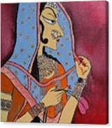 Bani Thani Canvas Print