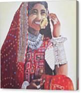 Banjaran With Traditional Attire Canvas Print