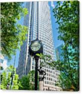 Bank Of America Corporate Center In Charlotte, Nc Canvas Print