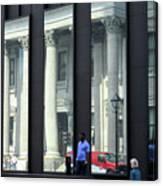 Bank Of Montreal Reflection Canvas Print