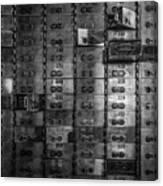 Bank Vault Deposit Box Canvas Print
