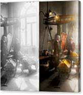 Banker - Worth Its Weight In Gold 1917 Side By Side Canvas Print