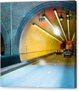 Bankhead Tunnel Canvas Print