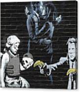 Banksy - Failure To Communicate Canvas Print