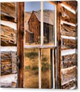 Bannack Reflection In The Past Canvas Print