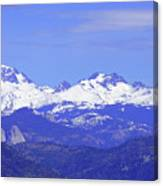 Banner, Ritter And Minarets Canvas Print
