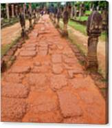 Banteay Srei Red Sandstone Road - Cambodia Canvas Print