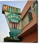 Banyan Tree Motel Canvas Print