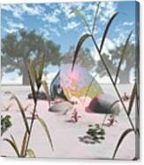 Baobabs Canvas Print