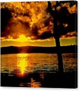 Baptized By Fire Canvas Print
