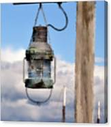 Bar Harbor Lantern Canvas Print