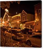 Bar Harbor Nights Canvas Print