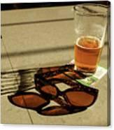 Bar Shadows Canvas Print