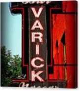 Bar Varick Nascar Canvas Print