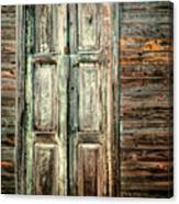 Baracoa Window 2 Canvas Print