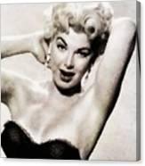 Barbara Nichols, Vintage Actress By John Springfield Canvas Print