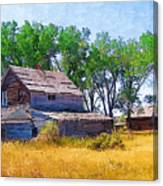 Barber Homestead Canvas Print