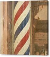 Barber Pole Canvas Print
