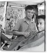 Barbers 2 Canvas Print