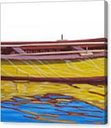 Barca Amarilla Canvas Print