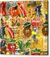 Barcelona Candy Canvas Print