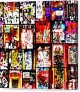 Barcelona Doors  Canvas Print