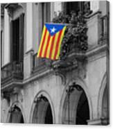 Barcelona - Estelada Canvas Print