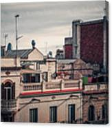 Barcelona Roofscape Canvas Print