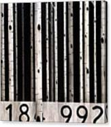 Barcode #19 Canvas Print