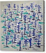 Bare Trees Canvas Print