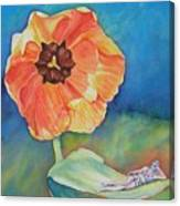 Barefoot One Canvas Print