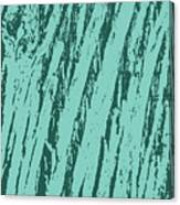 Bark Texture Turquoise Canvas Print